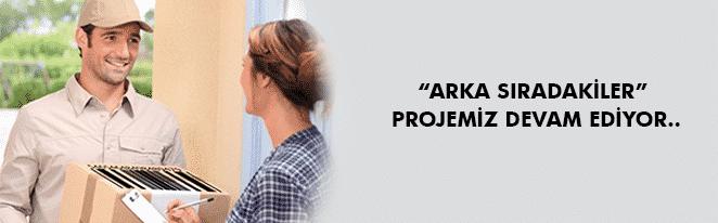 """""""ARKA SIRADAKİLER"""" PROJEMİZ DEVAM EDİYOR.."""